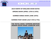 Tablet Preview of northofenglandshows.co.uk